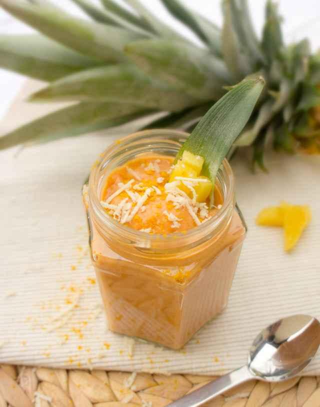 Cocktail BBQ Sauce mit Kren und Ananas