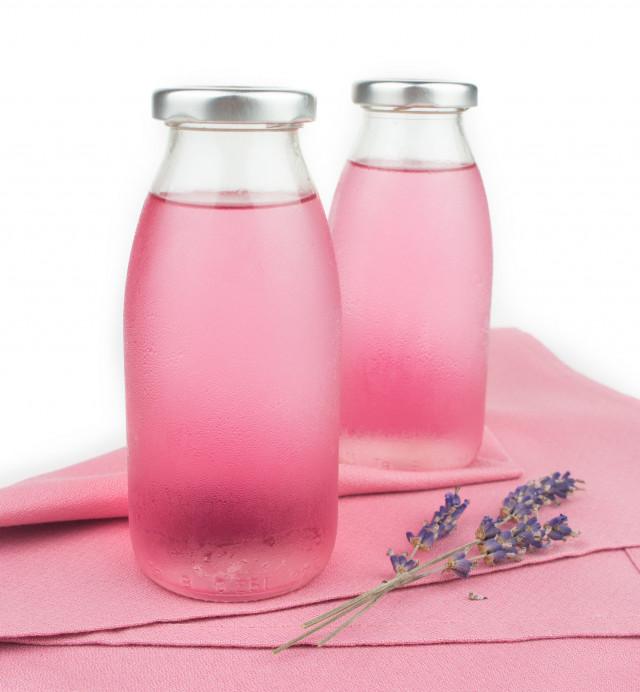 Lavendelsirup mit Xylit