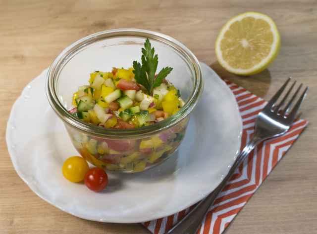 Orientalischer Salat