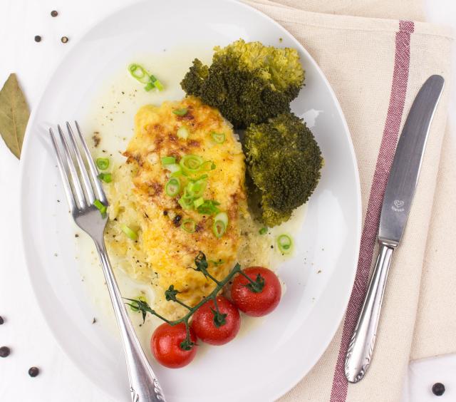 Toskanisches Huhn mit Brokkoli